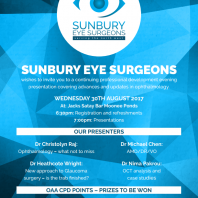 Optometry CPD education night